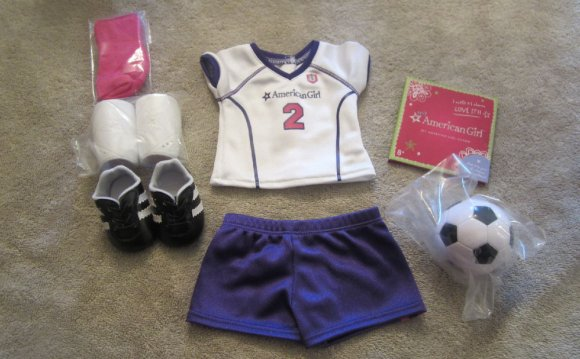 American Girl Doll Soccer