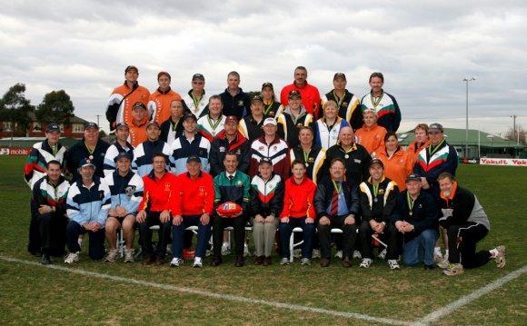 SSA Australian Football Team