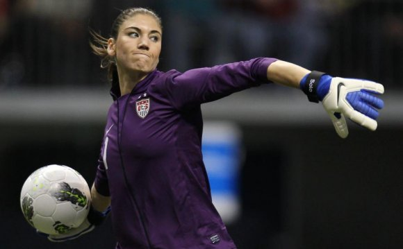 USA soccer goalkeeper Hope