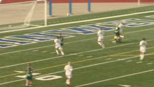Calvin Christian vs. Kalamazoo Christian in a Division 4 state semifinal. (June 10, 2015)