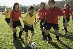 Girls make up 48 per cent of the more than 3 million kids registered in US Youth Soccer leagues.