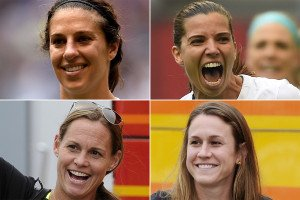 How these four Jersey girls took the soccer world by storm