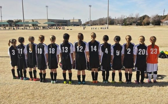 North Texas Girls select Soccer