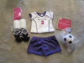 American Girl Doll Soccer Outfit