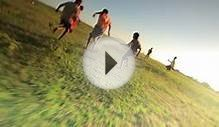 clip 8977678: Children playing soccer in Kenya.