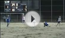 Girl Soccer Player Takes One to the Face