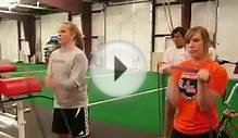 Girls High School Soccer off-season strength training