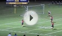 Girls Soccer, Needham vs Newton North, October 1, 2013