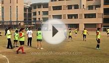 High school girls soccer festival in Gurgaon