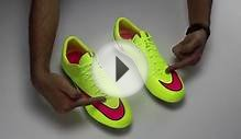 Nike Mercurial Vapor X FG Soccer Cleats - Volt and Pink Review