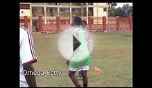 Omega Betty playing in Gafford Girls Soccer Academy.