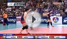 Thailand vs South Korea Asian girls U17 Volleyball