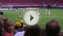 US Womens soccer team VS Mexico