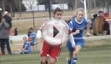 USA 13 year old girl soccer player (Messi)
