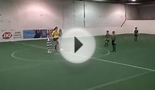 Youth Soccer Game - Passing Ball - How To Play MidField