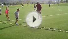 Youth Soccer Highlight of 8 year old Hunter Speed Training